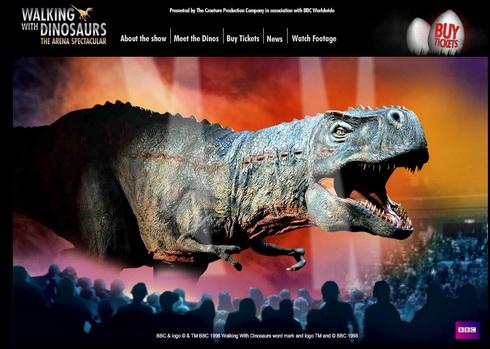 serijal o dinosaurusima  O Dinosaursima